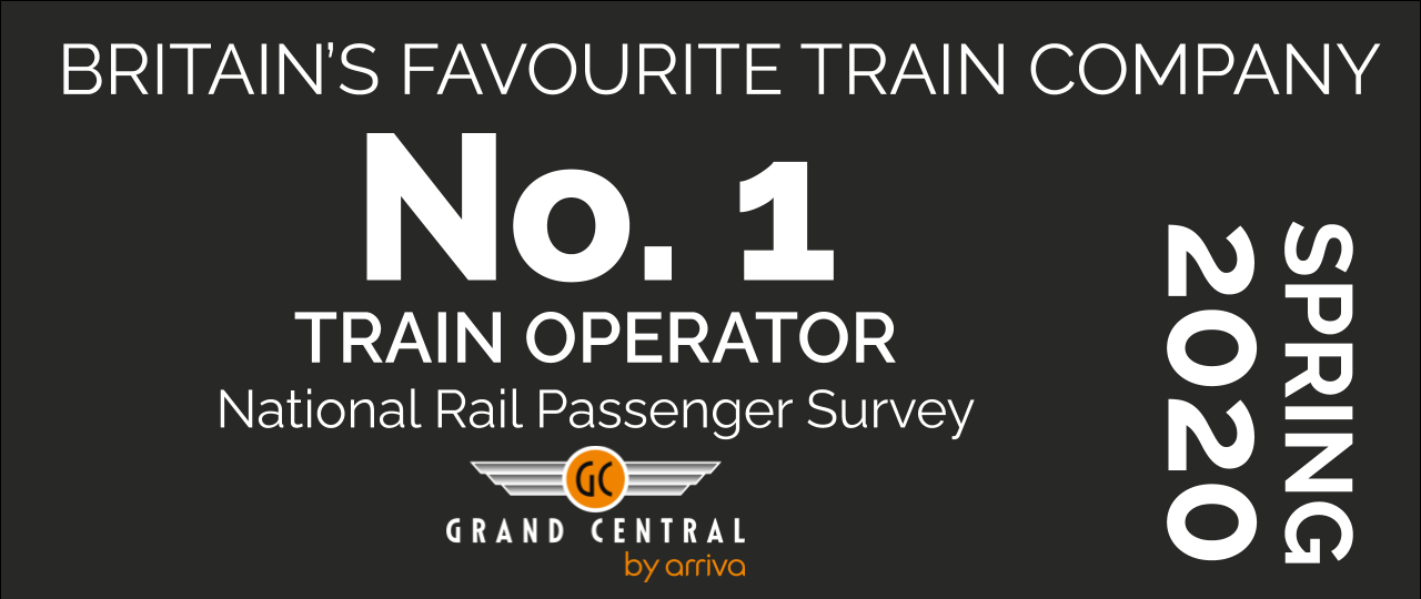 Grand Central - Britain's Favourite Train Company - NRPS Spring 2020