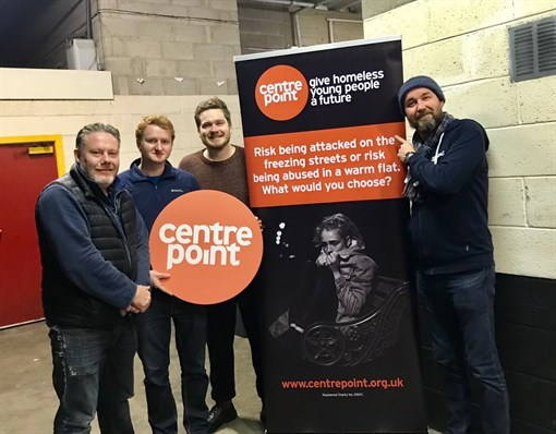 Centrepoint Sleepout volunteers