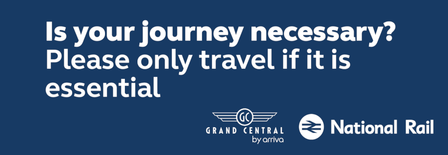 Is your journey necessary? Only travel if it is essential.
