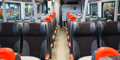 Refurbished Grand Central Trains